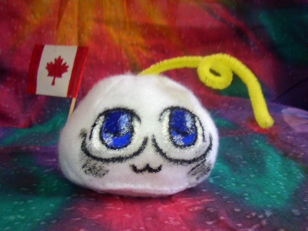 Canada Mochi Plushie by ABlackSun