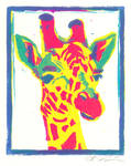 Pop Art Giraffe
