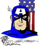 Captain America ala Ron Frenz