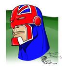 Captain Britain ala Alan Davis