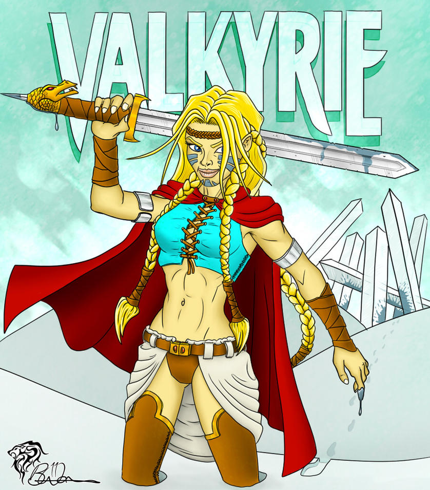 Valkyrie - Frost Maiden by eiledon on DeviantArt