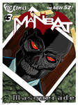 DC New 52 Man Bat #3 Cover - Masquerade by eiledon