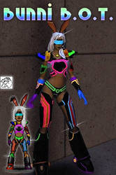 Bunni B.O.T, CO Raving Rabbit now in Micro Form by eiledon