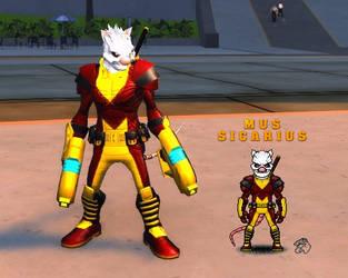Mus Sicarius - Micro Hero by eiledon