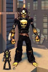 Ratasassin Micro Hero (Champions Online) by eiledon