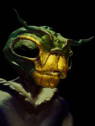 Sculptris Test - Mr Bug by eiledon