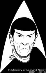 Spock - In Memoriam by eiledon