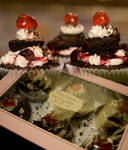 Black Forest Kirch Cupcakes