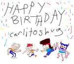 Happy Birthday carlitosbug