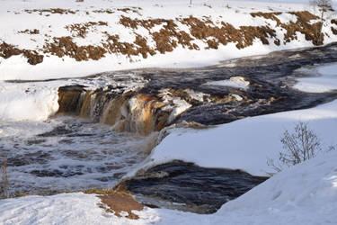Tosnensky waterfall