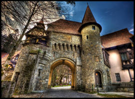 castle's gate by CokeJunkee