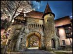 castle's gate
