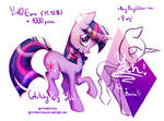 {YCH} Prancing Glitchy Pony! (OPEN) by RottenGotika