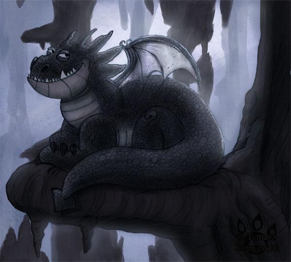 Arrogant Dragon by tamaraR