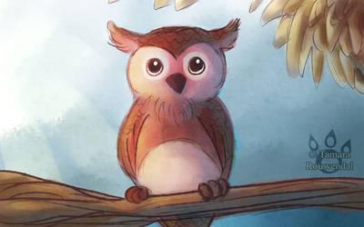Little Owl by tamaraR