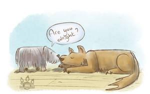 Doggie Friends by tamaraR