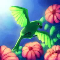 Bird of paradise by tamaraR