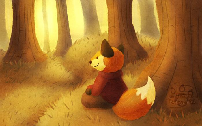 Fox his favourite season by tamaraR