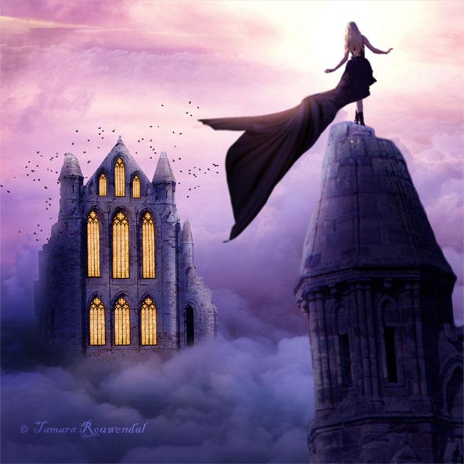 Sky Castle by tamaraR