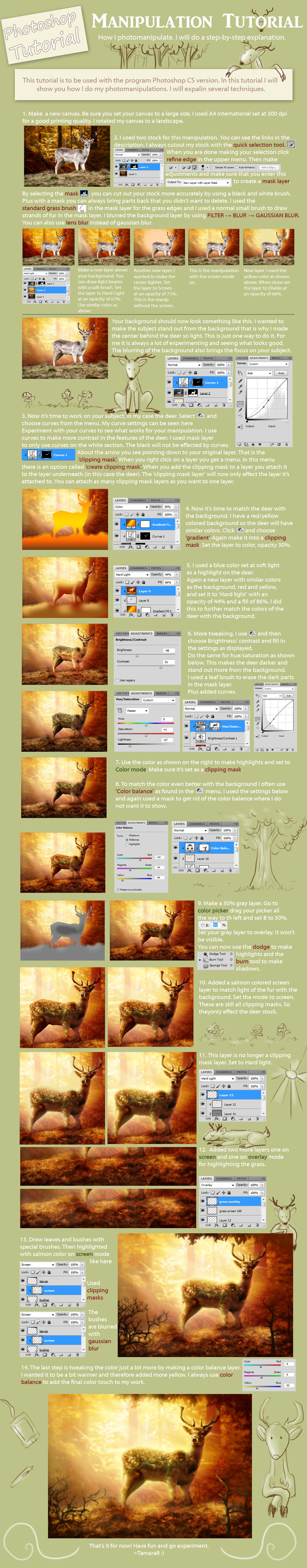 Photoshop tutorials deviantart b o k e 1248 176 photoshop manipulation tutorial by tamarar baditri Choice Image