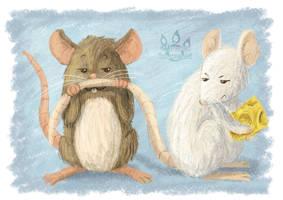 Mousetache by tamaraR