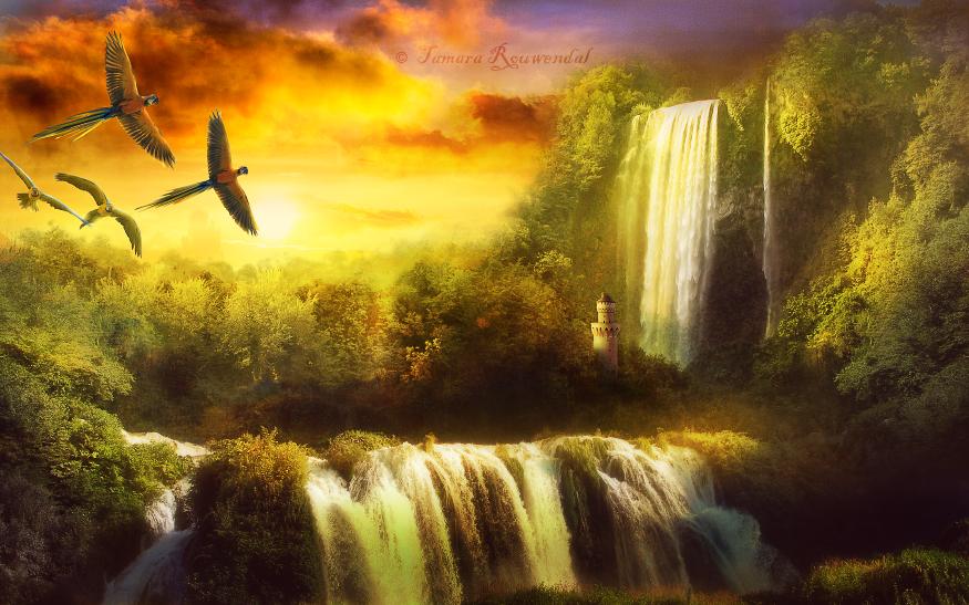 Paradise by tamaraR