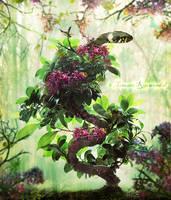 Blossoming Snake by tamaraR