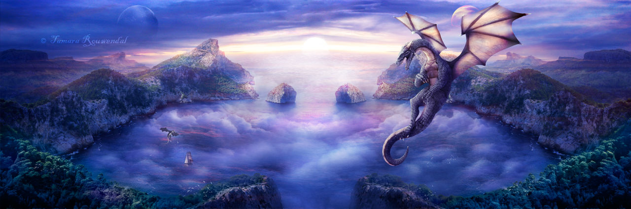 Dragon Domain by tamaraR