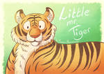 Little mr. Tiger by tamaraR