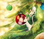Christmas Mice 2015 by tamaraR