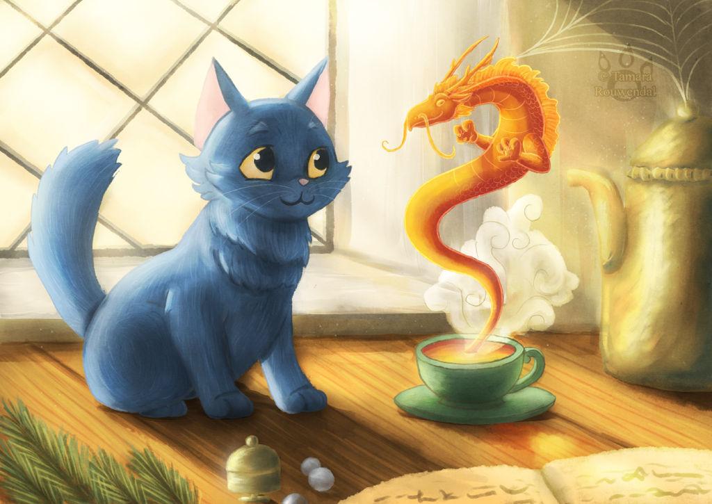 Teacup Dragon by tamaraR