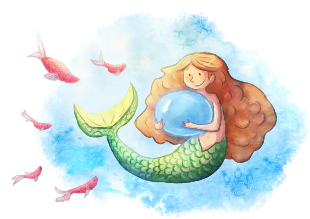 Mermaid's Treasure by tamaraR