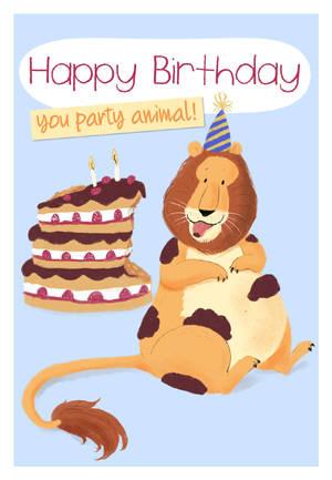 Happy Birthday you party animal! by tamaraR