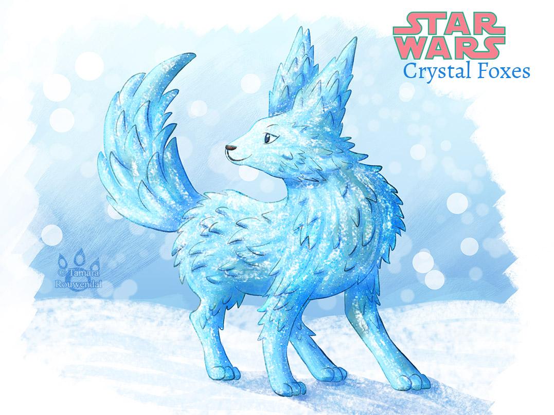 Star Wars : Crystal Fox - Vulptex by tamaraR