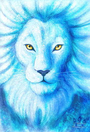 Lion of Ice by tamaraR