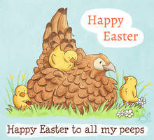 Happy Easter to all my Peeps by tamaraR