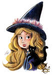 Little Witch by tamaraR