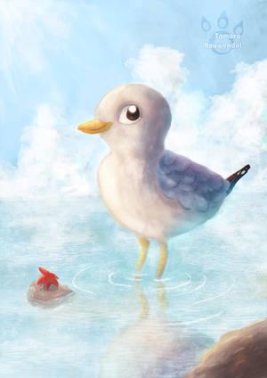 Little Seagull by tamaraR