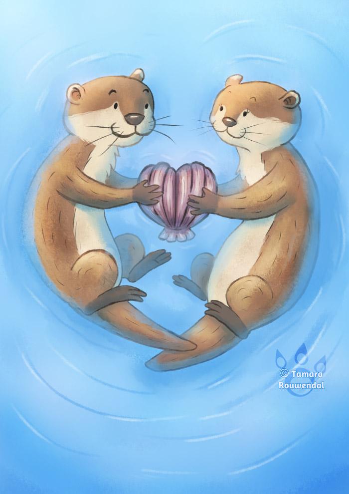 Otterly Adorable by tamaraR