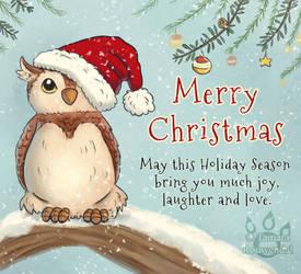 Christmas Owlie