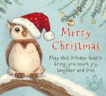 Christmas Owlie by tamaraR