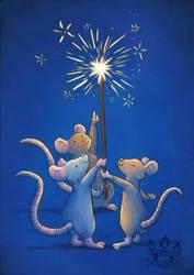 Sparkler Mice