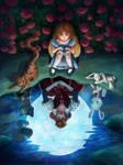 Alice in Wonderland Reflection by tamaraR