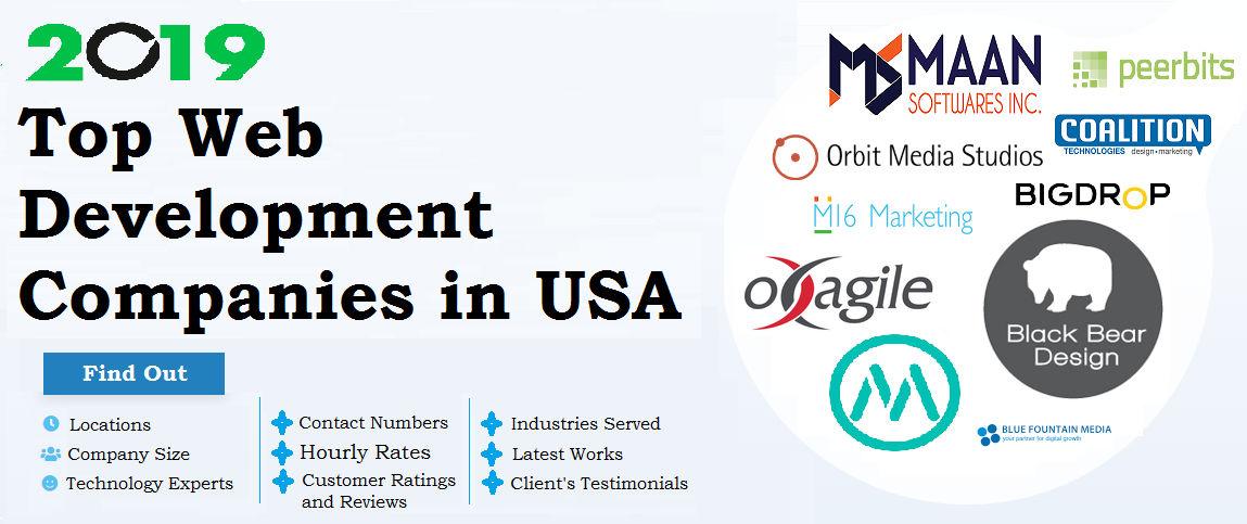 Top Web Development Companies In Usa 2019 By Maansoftwares On Deviantart