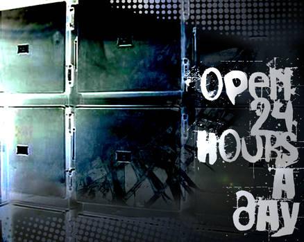 morgue is open