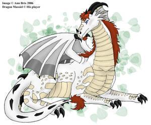 Dragon Massiel commission