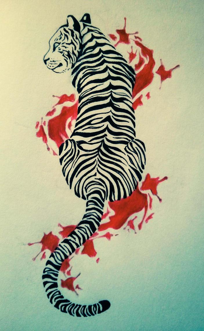 t i g e r _ next tattoo? by InaAmani