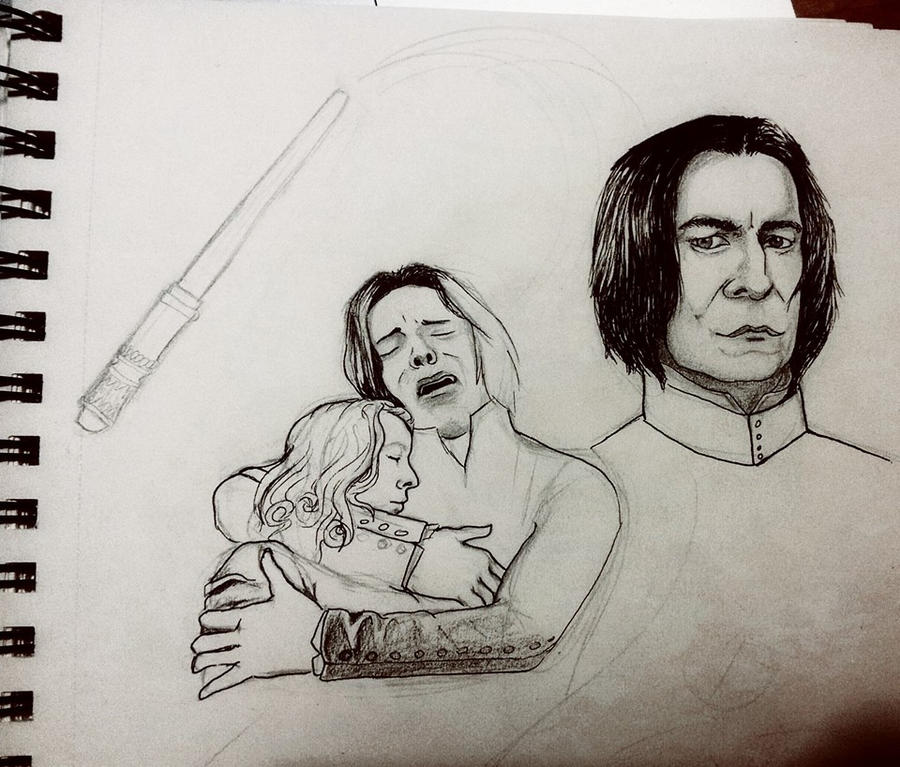 Snape Collage - in progress by InaAmani