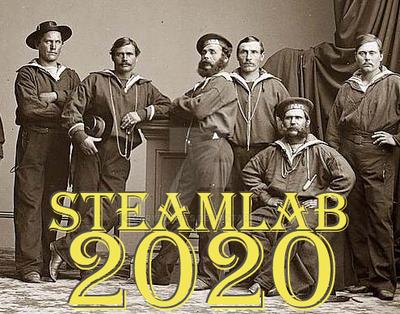 Steamlab 2020 crew by garybwatts