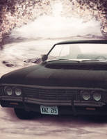 '67 Chevrolet Impala Drawing by Eisenrose